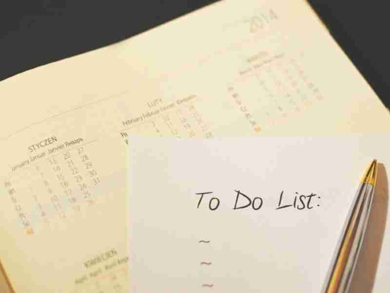 checklist for moving out