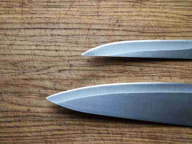 packing knives