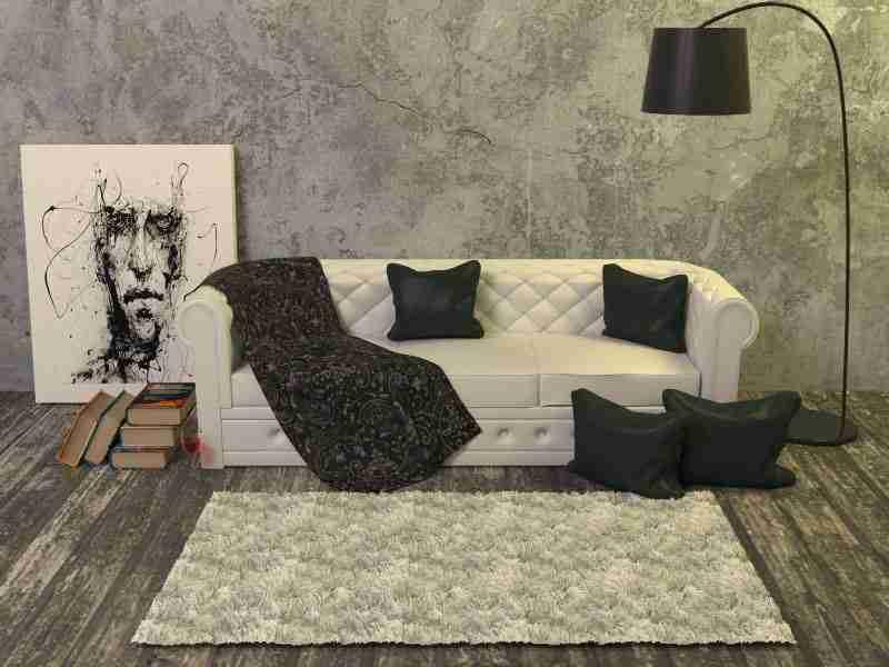 storing big furniture - sofa