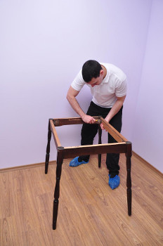 furniture assembly in house