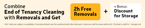 Get deal End of Tenancy and Removals!