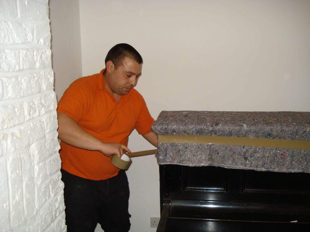 piano movers london